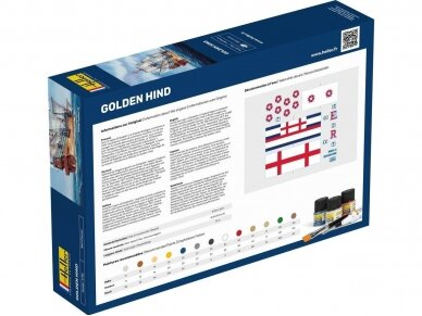 Heller - Golden Hind - Starter Set, 1/96, 56829 2