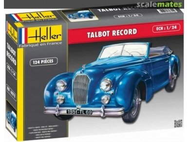Heller - Talbot Record, Scale: 1/24, 80711