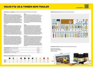 Heller - Volvo F12-20 & Timber Semi Trailer Starter Set, 1/32, 57704 2