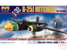 HK Models - B-25J Mitchell The Strafer, Mastelis: 1/32, 01E02