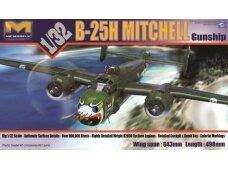 HK Models - B-25H MITCHELL Gunship, Mastelis: 1/32, 01E03