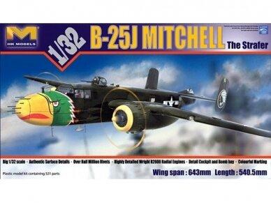 HK Models - B-25J Mitchell The Strafer, Mastelis: 1/32, 01E02