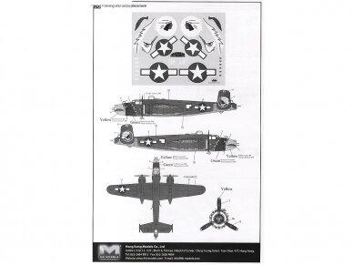 HK Models - B-25J Mitchell The Strafer, Mastelis: 1/32, 01E02 12