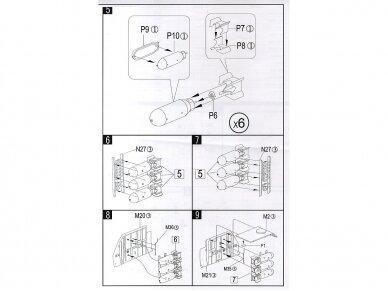 HK Models - B-25J Mitchell The Strafer, Mastelis: 1/32, 01E02 14
