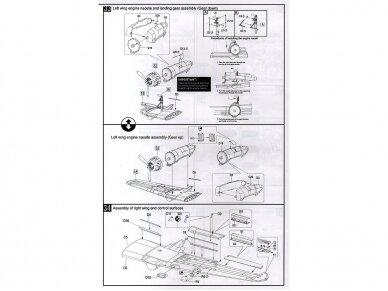 HK Models - B-25J Mitchell The Strafer, Mastelis: 1/32, 01E02 22