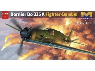 HK Models - Dornier Do 335 A Fighter Bomber, Mastelis: 1/32, 01E08