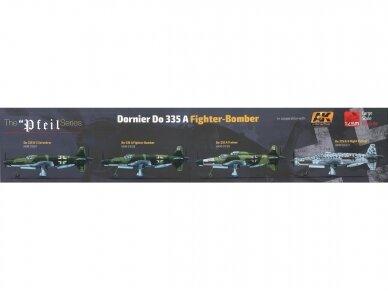 HK Models - Dornier Do 335 A Fighter Bomber, Mastelis: 1/32, 01E08 2