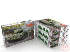 Hobby Boss - Russian T-34/85 Tank (Model 1944 / Angle-Jointed Turret), 1/48, 84809