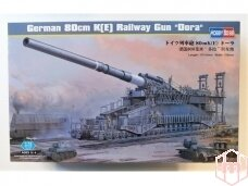 "Hobbyboss - German 80cm K(E) Railway Gun ""Dora"", Scale: 1/72, 82911"