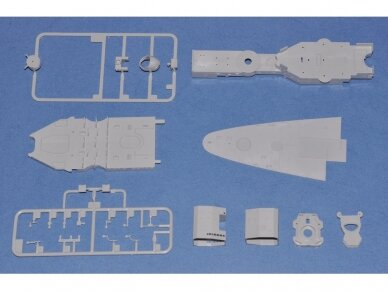 Hobby Boss - French Navy Battleship Dunkerque, Mastelis: 1/350, 86506 7