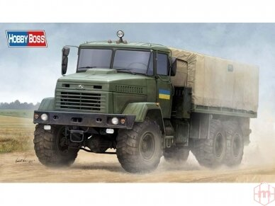 "Hobby Boss - Ukraine KrAZ-6322 ""Soldier"", Mastelis: 1/35, 85512"