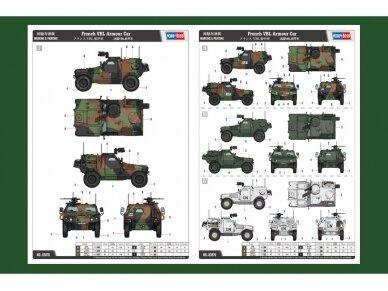 Hobbyboss - French VBL Armour Car, Mastelis: 1/35, 83876 2