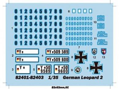 Hobbyboss - German Leopard 2 A4 tank, Mastelis: 1/35, 82401 2