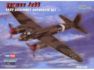 Hobby Boss - Ju88 Fighter, Mastelis: 1/72, 80297