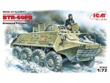 ICM - BTR-60PB Armored Personnel Carrier, 1/72, 72911