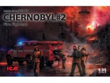 ICM - Chernobyl #2 Fire Fighters, Scale: 1/35, 35902