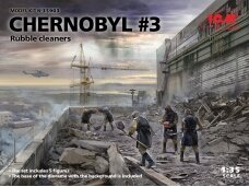 ICM - Chernobyl #3 Rubble Cleaners, 1/35, 35903
