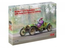 ICM - Model T 1913 Speedster with American Sport Car Drivers, 1/24, 24026