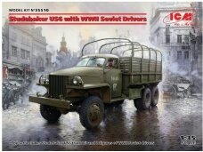 ICM - Studebaker US6 with WWII Soviet Drivers, 1/35, 35510