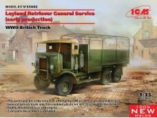 ICM - Leyland Retriever General Service (early production) WWII British Truck, 1/35, 35602