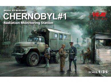 ICM - Chernobyl #1 Radiation monitoring station, Mastelis: 1/35, 35901