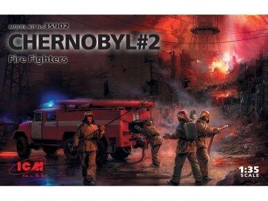 ICM - Chernobyl #2 Fire Fighters, Mastelis: 1/35, 35902