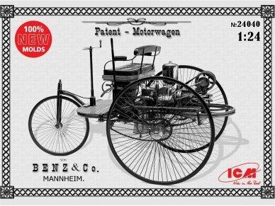 ICM - Benz Patent-Motorwagen 1886, Mastelis: 1/24, 24040