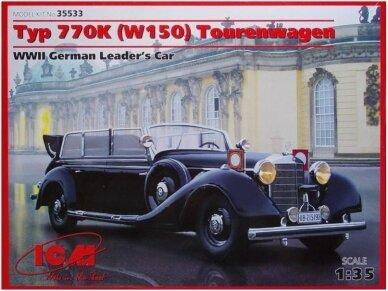 ICM - Mercedes-Benz Typ 770K (W150) Tourenwagen, Mastelis: 1/35, 35533