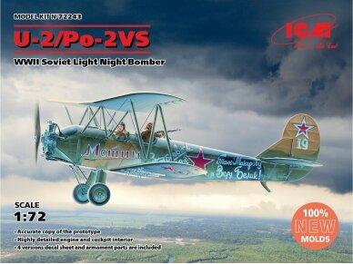 ICM - U-2/Po-2VS, WWII Soviet Light Night Bomber, Mastelis: 1/72, 72243