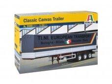 Italeri - Classic Canvas Trailer, 1/24, 3908