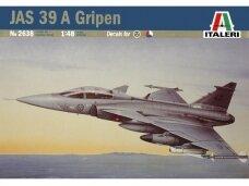 Italeri - JAS 39 A Gripen, Mastelis: 1/48, 2638