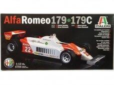Italeri - Alfa Romeo 179 or 179C, Mastelis: 1/12, 4704