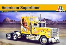 Italeri - American Superliner, Mastelis: 1/24, 3820