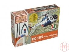 Italeri - BO-105 Police Helicopter Gift kit, Scale: 1/32, 12003