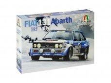 Italeri - Fiat 131 Abarth, Mastelis: 1/24, 3662