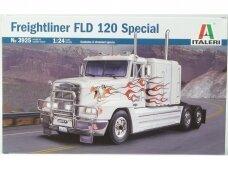 Italeri - Freightliner FLD 120 Special, Mastelis: 1/24, 3925