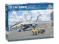 Italeri - F-14A Tomcat, Mastelis: 1/72, 1414