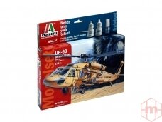 Italeri - UH-60A Desert Hawk dovanų komplektas, Mastelis: 1/72, 71025