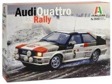 Italeri - Audi Quattro 1981 Monte Carlo Rally, Mastelis: 1/24, 3642