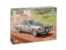 Italeri - Mercedes-Benz 450SLC Rallye Bandama 1979, Mastelis: 1/24, 3632
