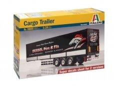 Italeri - Cargo Trailer, 1/24, 3885
