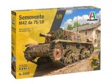 Italeri - SEMOVENTE M42 da 75/18, 1/35, 6569