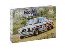 Italeri - Ford Escort RS1800 Mk.II, Mastelis: 1/24, 3650