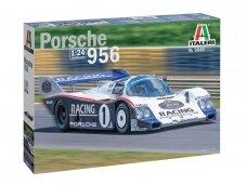 Italeri - Porsche 956, Mastelis: 1/24, 3648