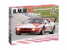 Italeri - BMW M1 Procar, Mastelis: 1/24, 3643