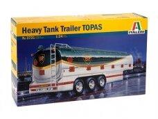 Italeri - Heavy Tank Trailer TOPAS, Mastelis: 1/24, 3731