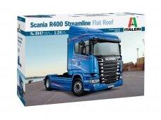 Italeri - Scania R400 Streamline (Flat Roof), 1/24, 3947