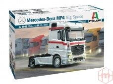 Italeri - Mercedes Benz MP4 Big Space (Middle Roof), Scale: 1/24, 3948