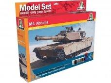 Italeri - M1 Abrams Model set, 1/72, 77001