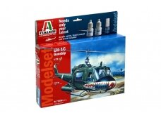 Italeri - UH-1C Gunship Model set, Scale: 1/72, 71050